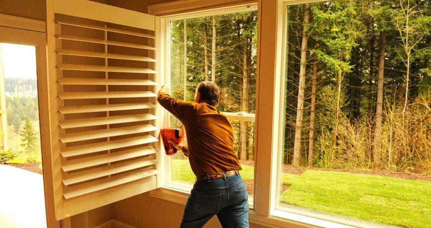 install shutters Portland